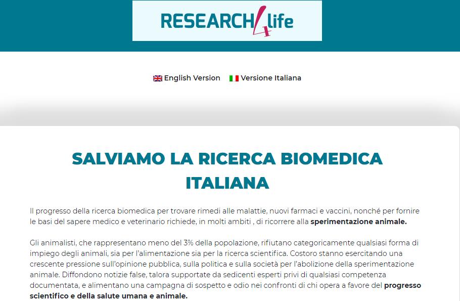 """Comunicato Conferenza Stampa """"Salviamo la ricerca biomedica Italiana"""""""