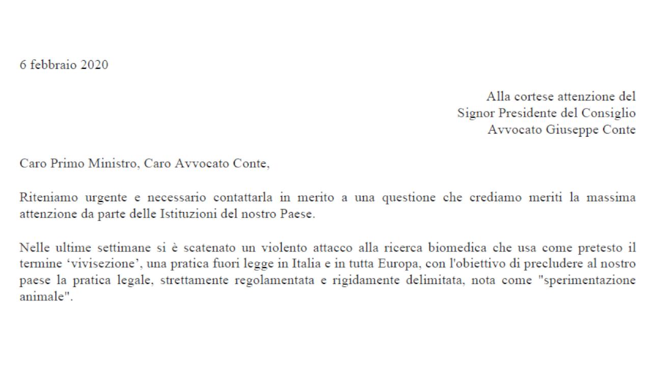 Appello della ricerca Italiana al Presidente del Consiglio dei Ministri (2)