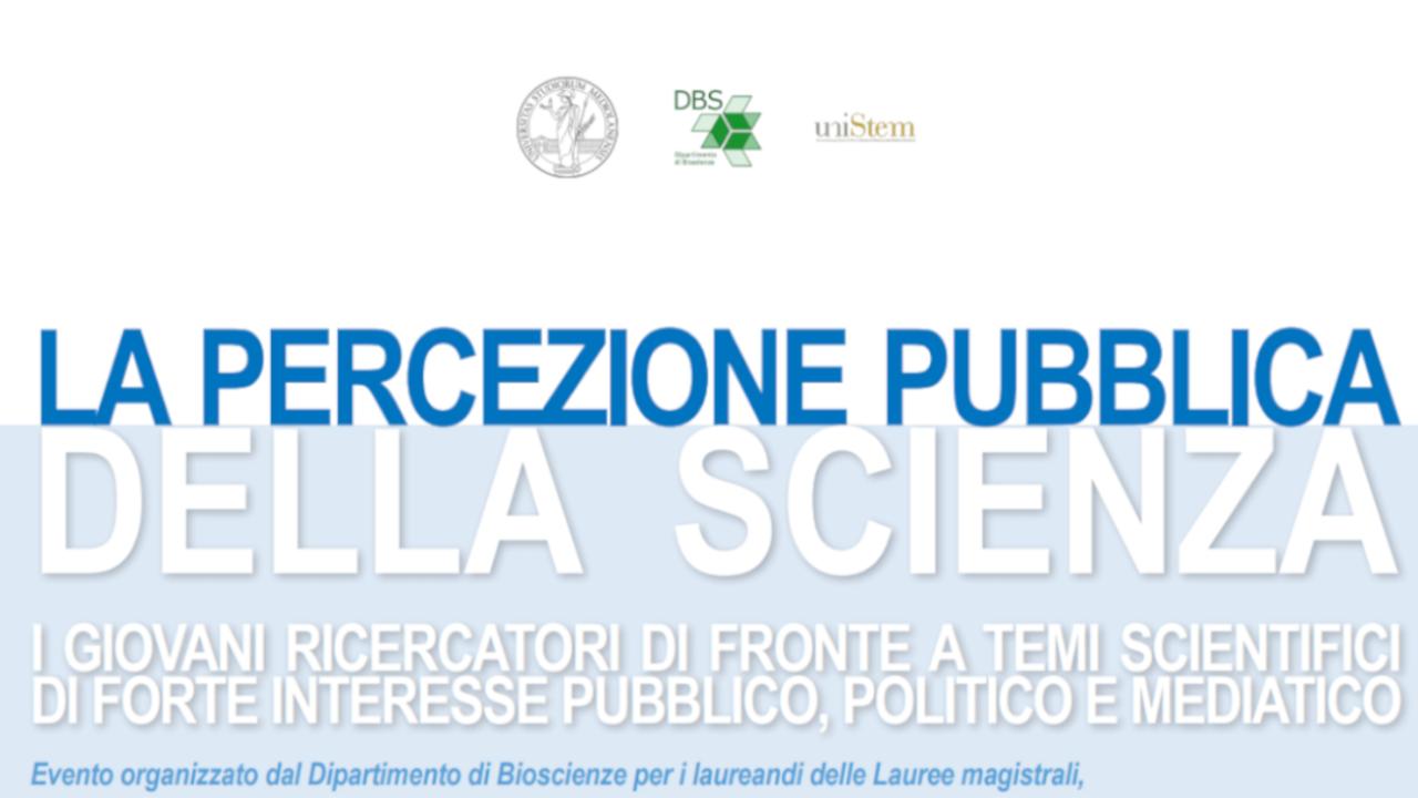 La percezione pubblica della scienza