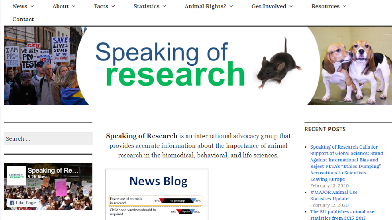 Speaking of Research Calls for support of Global Science